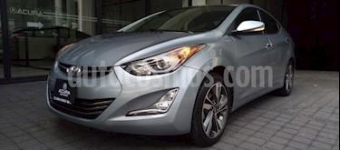 Hyundai Elantra 4P LIMITED TECH 1.8L TA CLIMATRONIC PIEL GPS RA-1 usado (2016) color Gris precio $215,000