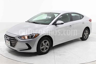 Hyundai Elantra 4p GLS L4/2.0 Aut usado (2018) color Plata precio $229,000