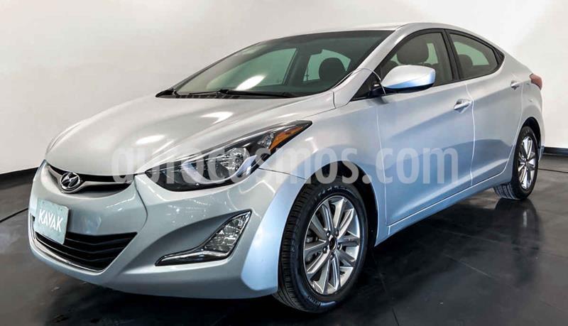 Hyundai Elantra GLS Premium Aut usado (2015) color Plata precio $177,999
