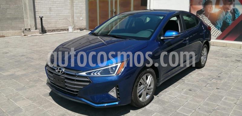 Hyundai Elantra GLS Premium usado (2019) color Azul precio $352,000