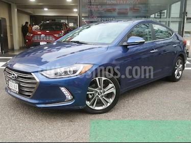 Hyundai Elantra Limited Tech Navi Aut usado (2017) color Azul precio $250,000