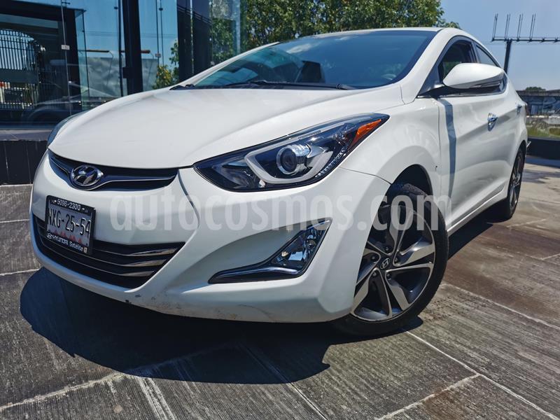 Hyundai Elantra Limited Aut usado (2016) color Blanco precio $190,000
