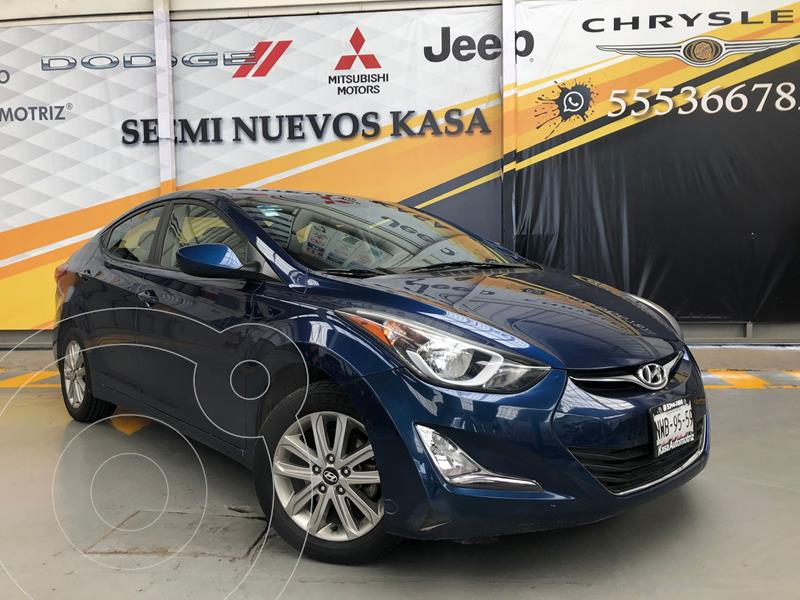Foto Hyundai Elantra GLS Premium usado (2016) color Azul precio $190,000