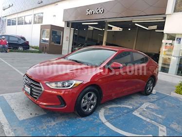 Hyundai Elantra 4p GLS L4/2.0 Aut usado (2017) color Rojo precio $209,900
