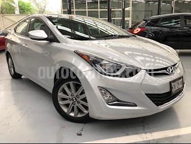 Hyundai Elantra GLS Aut usado (2015) color Plata precio $165,000