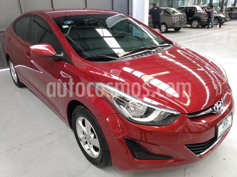 Hyundai Elantra GLS usado (2015) color Rojo precio $159,900