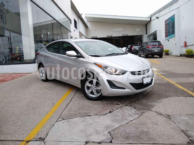 Hyundai Elantra GLS Aut usado (2016) color Plata precio $188,000