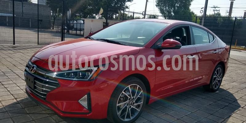 Hyundai Elantra Limited Tech Navi Aut usado (2019) color Rojo precio $351,500