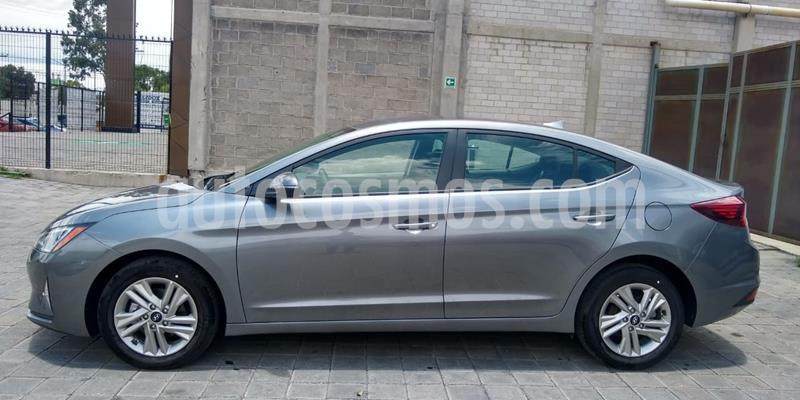 Hyundai Elantra GLS Premium usado (2019) color Gris Oscuro precio $283,000