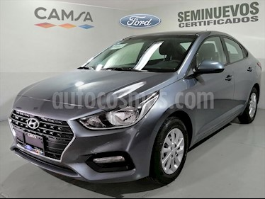 Hyundai Elantra GL MID usado (2018) color Gris Oscuro precio $216,900