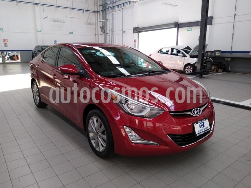 Hyundai Elantra GLS Premium usado (2016) color Rojo precio $185,000