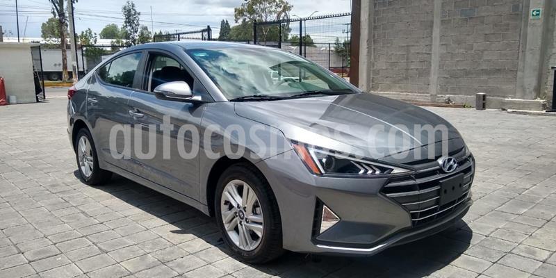 Hyundai Elantra GLS Premium usado (2019) color Gris precio $340,000