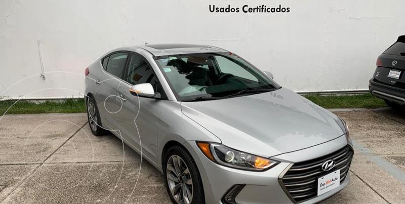 Hyundai Elantra Limited Tech Navi Aut usado (2018) color Plata precio $294,900