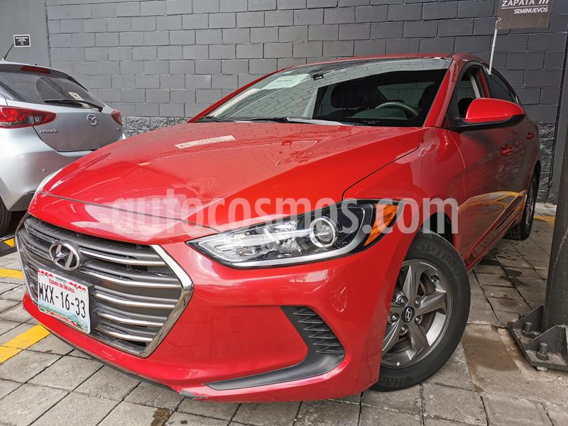 Hyundai Elantra GLS Aut usado (2017) color Rojo precio $175,000