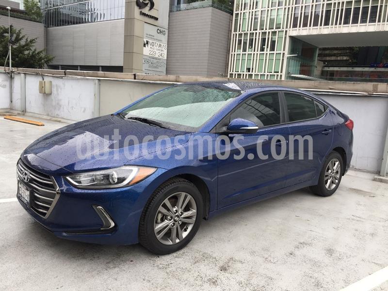 Hyundai Elantra GLS Aut usado (2017) color Azul precio $210,000