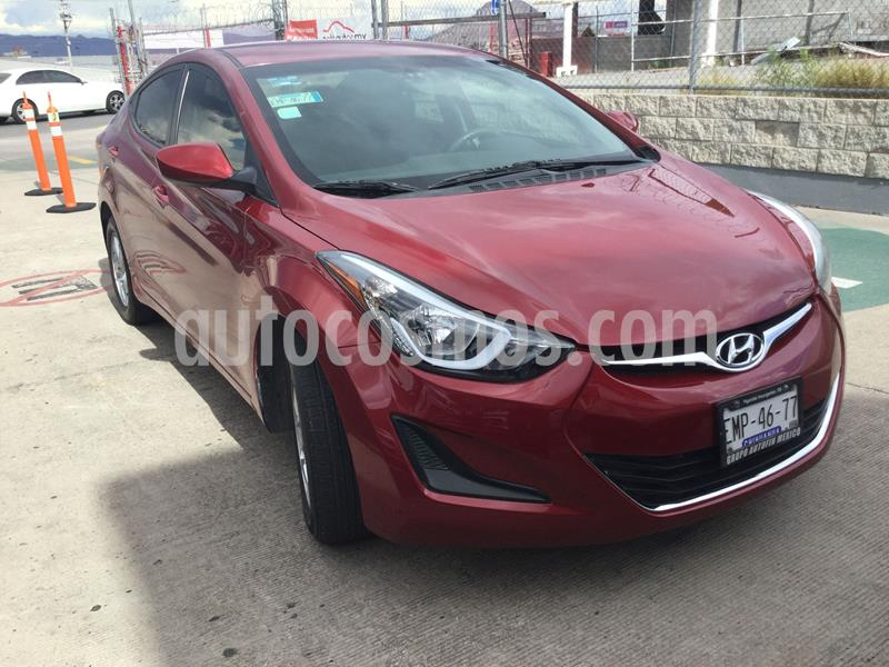 Hyundai Elantra GLS Aut usado (2016) color Rojo precio $170,000