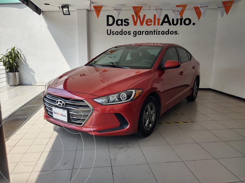 Hyundai Elantra GLS Aut usado (2018) color Rojo precio $210,000