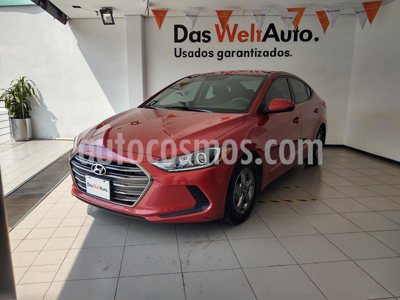 Hyundai Elantra GLS usado (2018) color Rojo precio $219,000