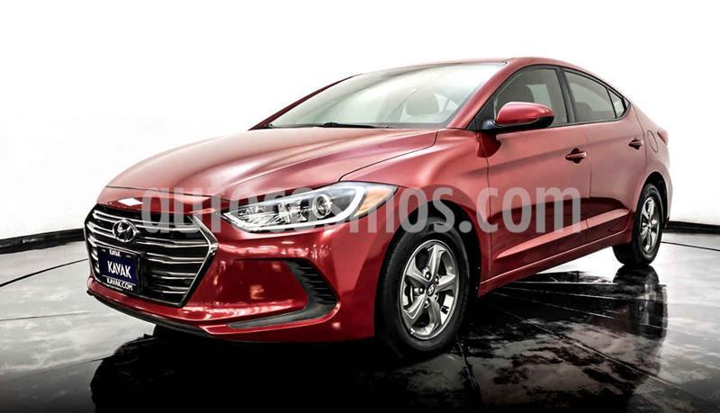 Hyundai Elantra GLS usado (2017) color Rojo precio $207,999