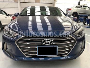 Hyundai Elantra Limited Tech Aut usado (2018) color Azul precio $261,000