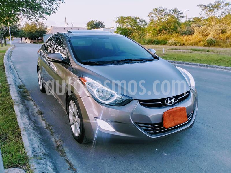 Hyundai Elantra GLS usado (2012) color Verde precio $124,000