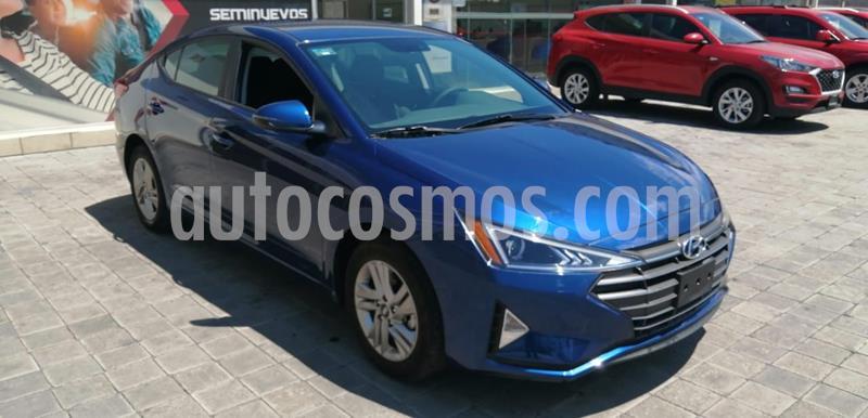 Hyundai Elantra GLS Premium usado (2019) color Azul Oscuro precio $283,000
