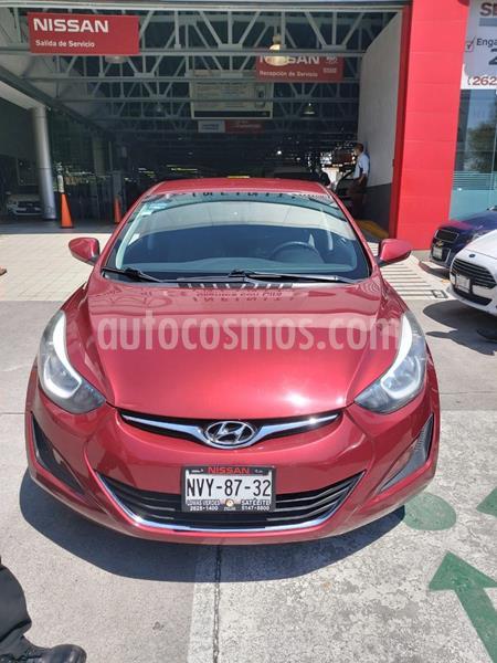 Hyundai Elantra GLS usado (2016) color Rojo precio $170,000