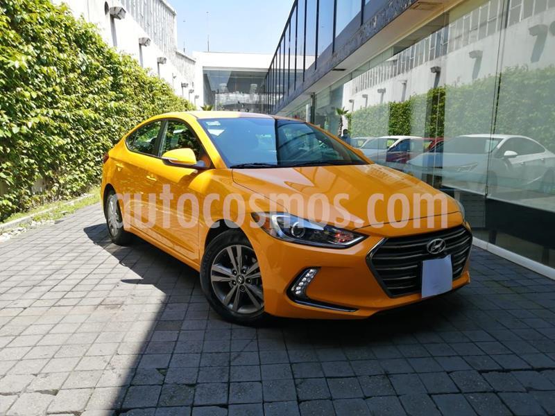 Hyundai Elantra GLS Premium usado (2018) color Amarillo precio $240,000