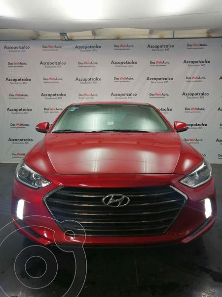 Hyundai Elantra GLS Premium Aut usado (2017) color Rojo precio $210,000