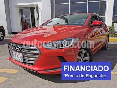 Hyundai Elantra GLS Aut usado (2017) color Rojo precio $47,500
