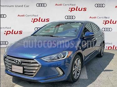 Hyundai Elantra Limited Tech Navi Aut usado (2018) color Azul precio $295,000
