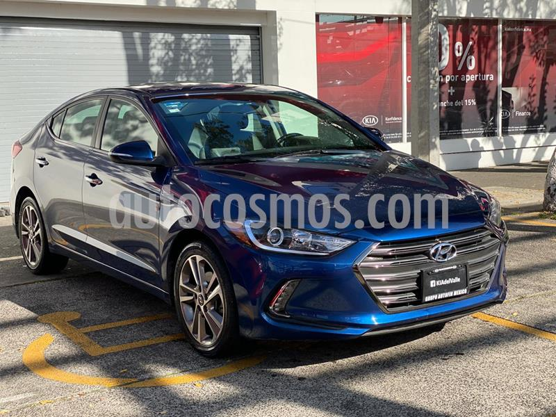 Hyundai Elantra Limited Tech Navi Aut usado (2017) color Azul precio $249,900