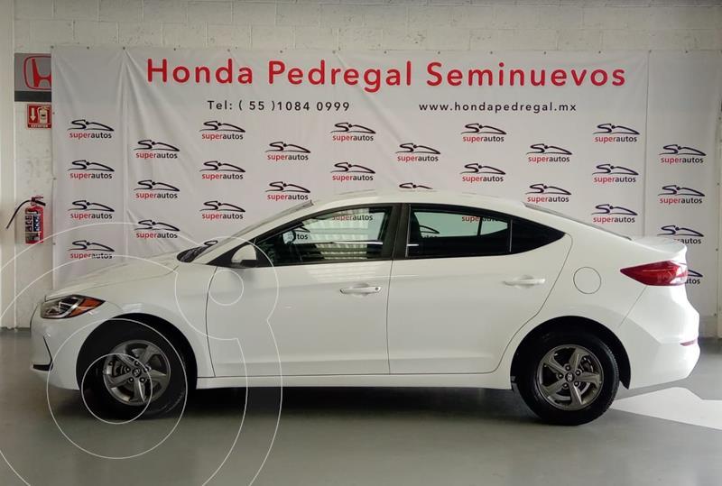 Hyundai Elantra GLS Aut usado (2017) color Blanco precio $214,000