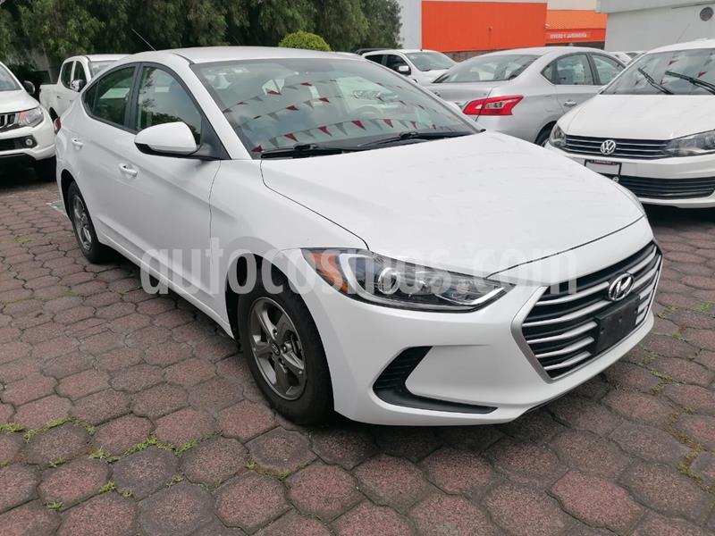 Hyundai Elantra GLS Aut usado (2018) color Blanco precio $234,900