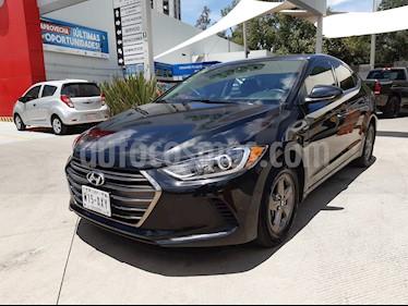 Hyundai Elantra GLS Aut usado (2017) color Negro precio $198,000