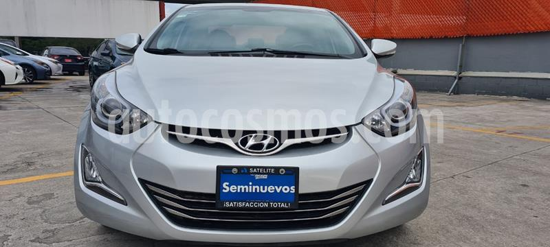 Hyundai Elantra Limited Tech Navi Aut usado (2016) color Plata precio $189,000