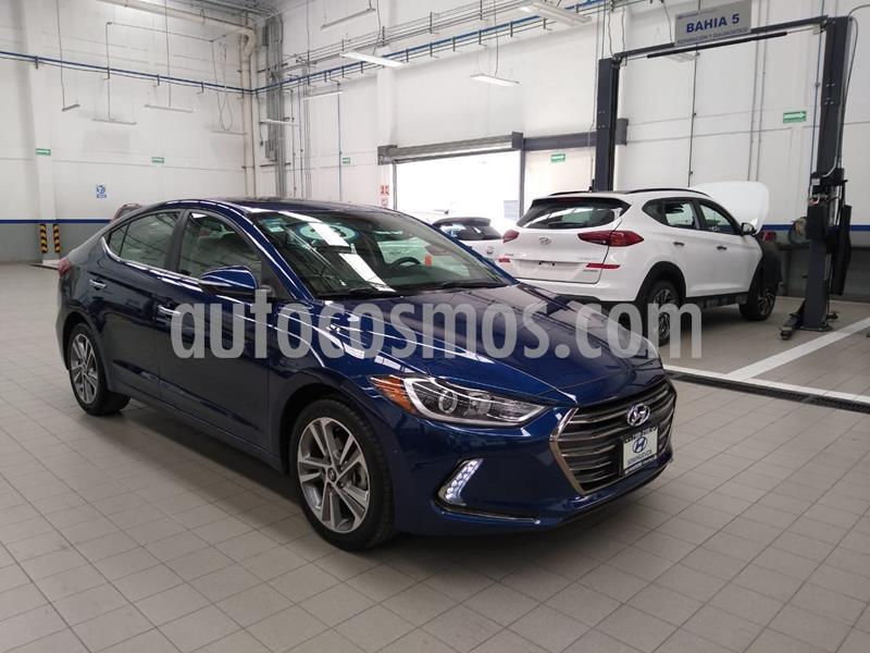 Hyundai Elantra Limited Tech Navi Aut usado (2018) color Azul precio $275,000