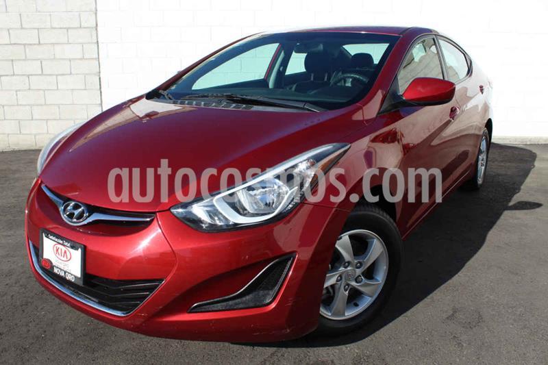 Hyundai Elantra GLS usado (2015) color Rojo precio $165,000