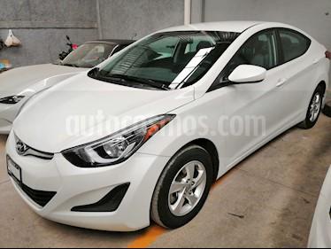 foto Hyundai Elantra GLS Aut usado (2015) color Blanco precio $160,000
