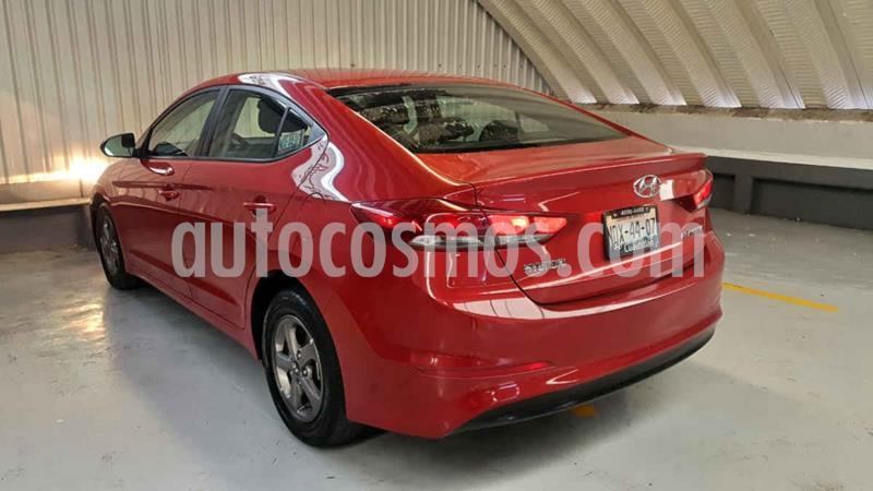 Hyundai Elantra GLS Aut usado (2017) color Rojo precio $195,000