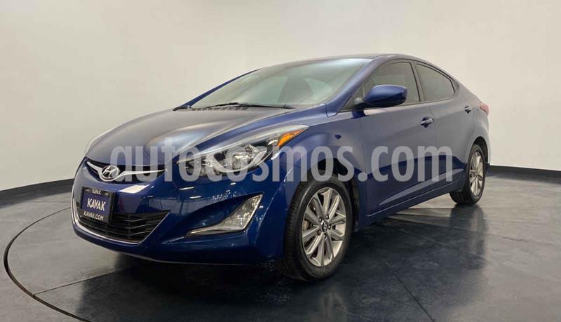 Hyundai Elantra GLS Premium Aut usado (2015) color Azul precio $179,999