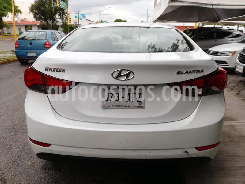 Hyundai Elantra GLS Aut usado (2016) color Blanco precio $169,000