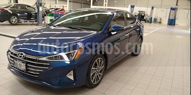 Hyundai Elantra Limited Tech Navi Aut usado (2019) color Azul precio $350,000