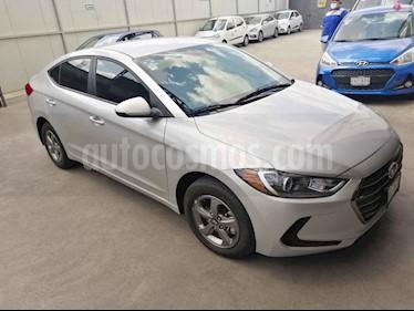 Hyundai Elantra GLS Aut usado (2017) color Plata precio $209,000