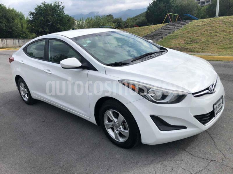 Hyundai Elantra GLS Premium Aut usado (2016) color Blanco precio $159,000