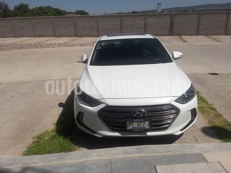 Hyundai Elantra Limited Tech Navi Aut usado (2018) color Blanco precio $270,000
