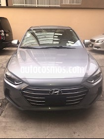 Hyundai Elantra GLS usado (2017) color Gris precio $190,500
