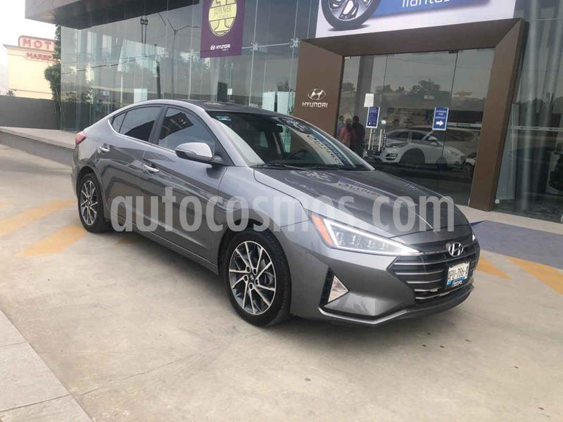 Hyundai Elantra Limited Tech Aut usado (2019) color Gris precio $325,000