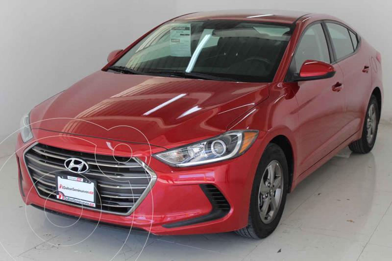 Foto Hyundai Elantra GLS Aut usado (2017) color Rojo precio $259,000
