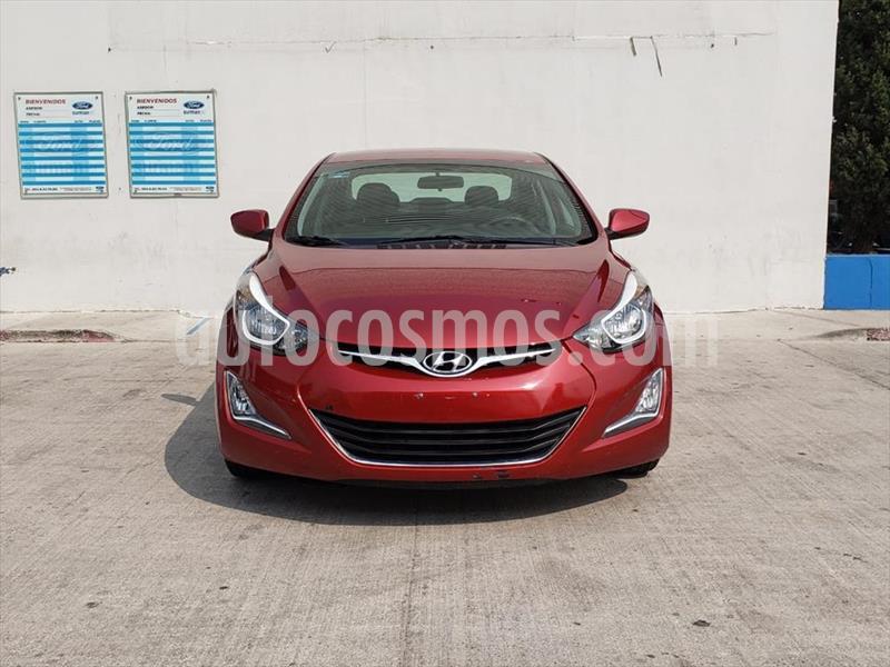 Hyundai Elantra GLS Premium Aut usado (2016) color Rojo precio $185,000